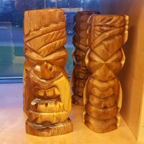 Tiki Statues - Medium, by Ta Tiki