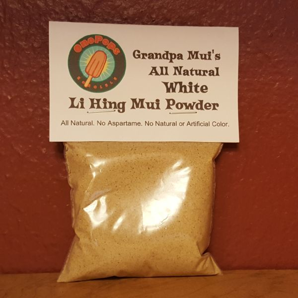 Grandpa Mui's White Li Hing Mui Powder, by Ono Pops