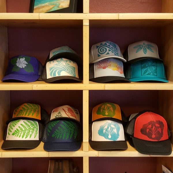 Native Plants Hats, by Aina Inspired