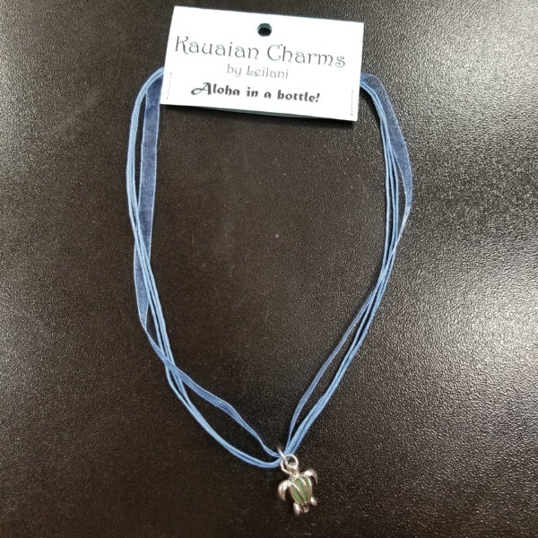 Turtle Charm Necklace, by Kauaian Charms