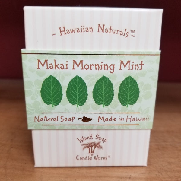 Hawaiian Naturals Soap - Makai Morning Mint, by Island Soap & Candle Works