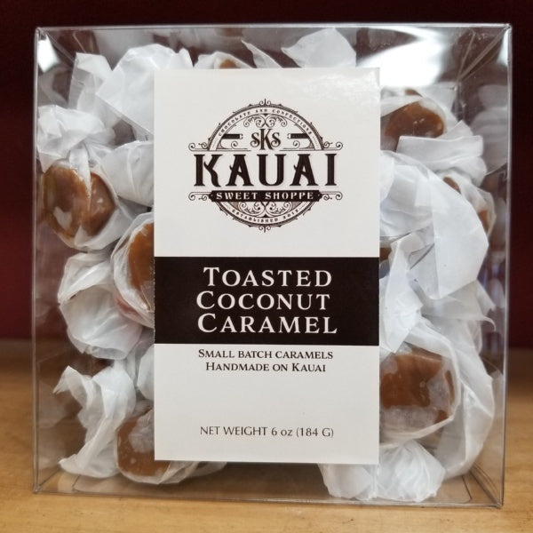 Caramels - Toasted Coconut, by Kauai Sweet Shoppe