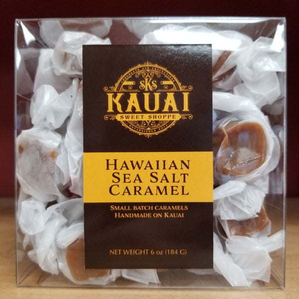 Caramels - Hawaiian Sea Salt, by Kauai Sweet Shoppe