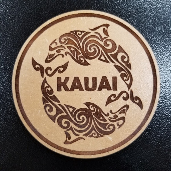 Coasters - Kauai Dolphins, by Insert Brand Here Shop