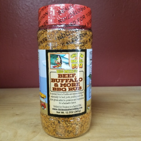 Beef, Buffalo & More BBQ Rub, by Chicken In A Barrel