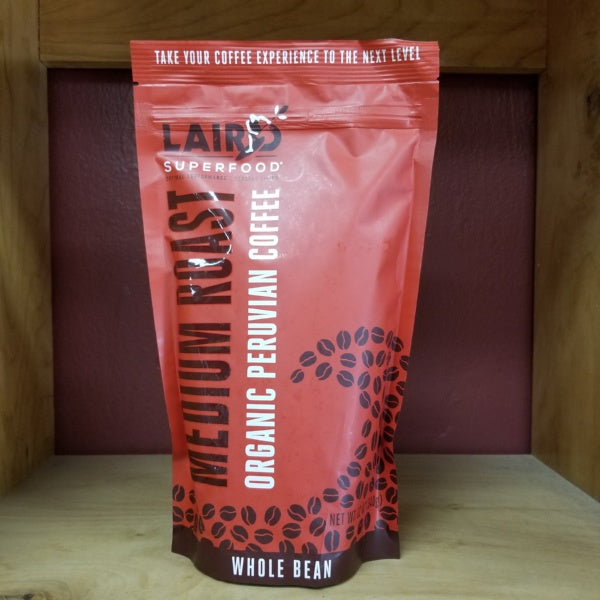 Coffee - Medium Roast Organic Peruvian, by Laird Superfood