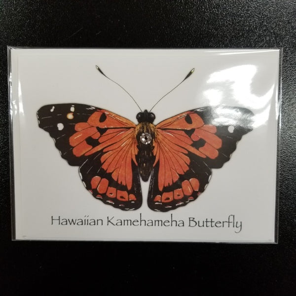 Kamehameha Butterfly Cards, by Norbert