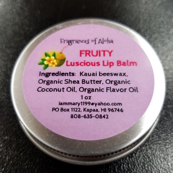 Lip Balm - Fruity, by Fragrances of Aloha