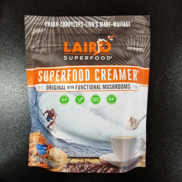 Superfood Creamer - Original with Functional Mushrooms, by Laird Superfood