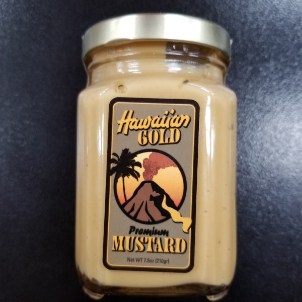 Premium Mustard - 7.5 oz., by Hawaiian Gold Mustard