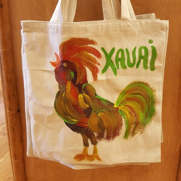 Tote Bag - Rooster, by Mary Felcher