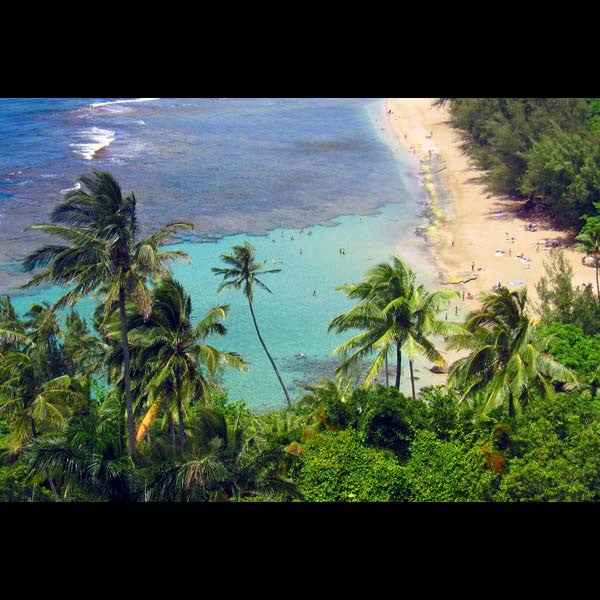 Postcards - Ke'e Beach, by The Kauai Store , Postcards - The Kauai Store, The Kauai Store  - 1
