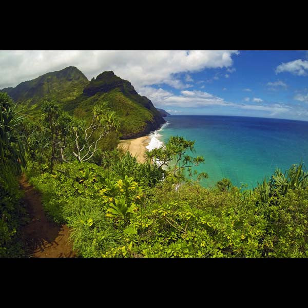 Postcards - Hanakapi'ai, by The Kauai Store , Postcards - The Kauai Store, The Kauai Store  - 1