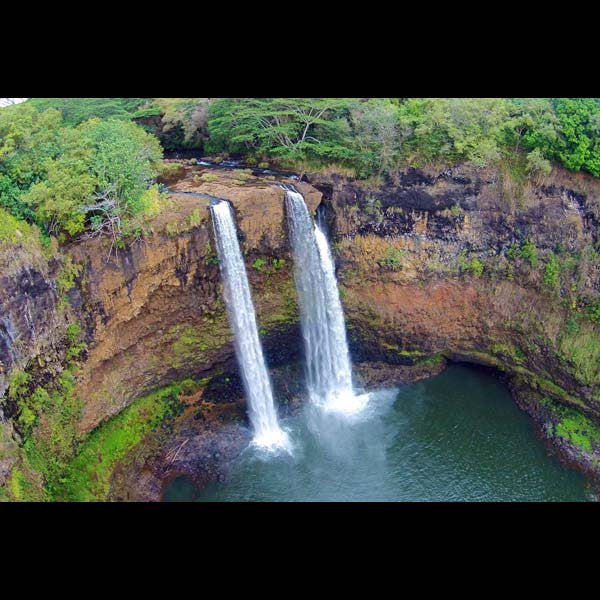 Postcards - Wailua Falls, by The Kauai Store , Postcards - The Kauai Store, The Kauai Store  - 1