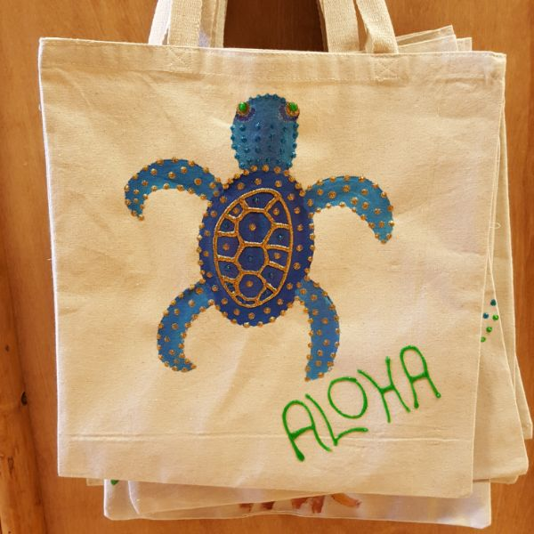 Tote Bag - Turtle, by Mary Felcher