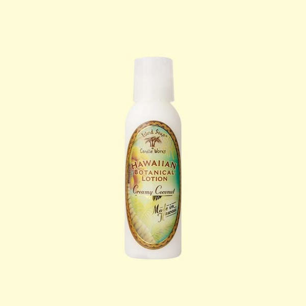 Botanical Lotion - Creamy Coconut, 2 oz. by Island Soap & Candle Works , Beauty - Island Soap & Candle Works, The Kauai Store