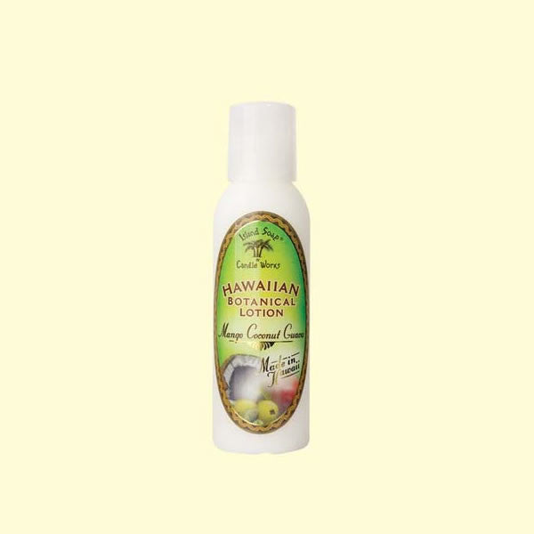 Botanical Lotion - Mango Coconut Guava, 2 oz. by Island Soap & Candle Works , Beauty - Island Soap & Candle Works, The Kauai Store