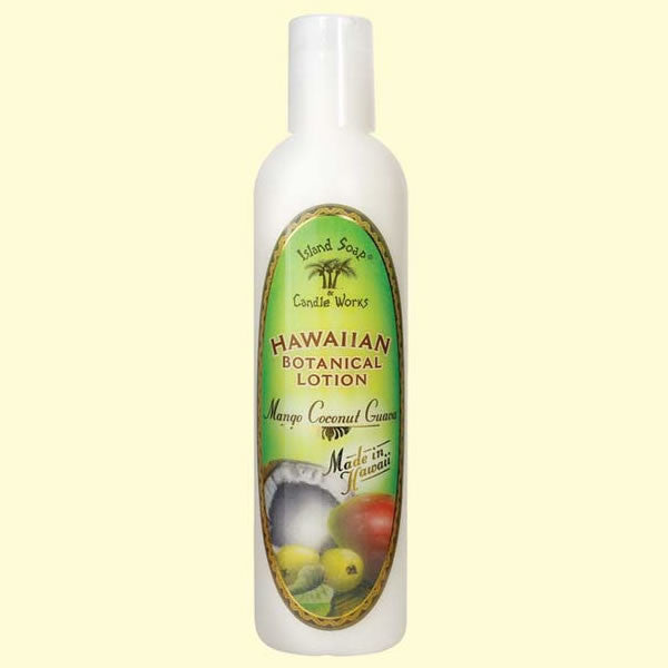 Botanical Lotion -  Mango Coconut Guava, 8.5 oz. by Island Soap & Candle Works , Beauty - Island Soap & Candle Works, The Kauai Store