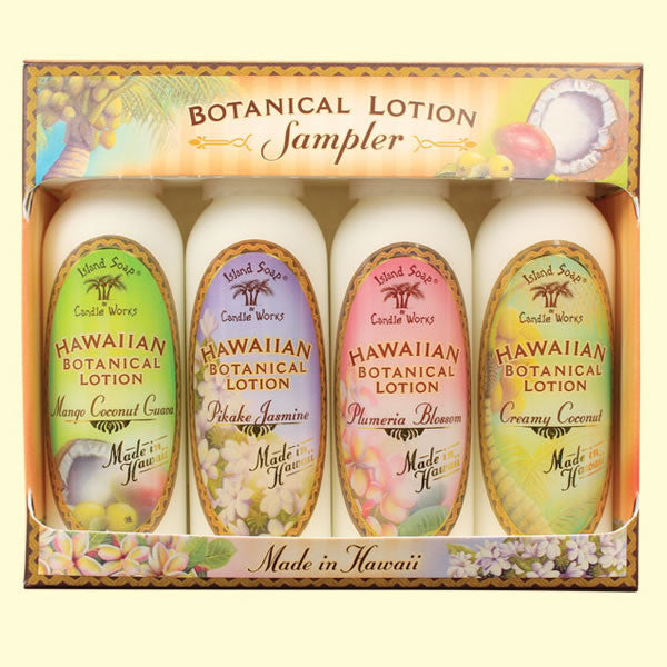 Botanical Lotion Sampler - 2 oz. by Island Soap & Candle Works , Beauty - Island Soap & Candle Works, The Kauai Store  - 1