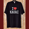 T-Shirt - I Heart Kauai, Black by The Kauai Store , Shirts - The Kauai Store, The Kauai Store