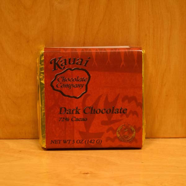 Chocolate Bar - 72% Dark Chocolate, by Kauai Chocolate Company , Chocolate - Kauai Chocolate Company, The Kauai Store