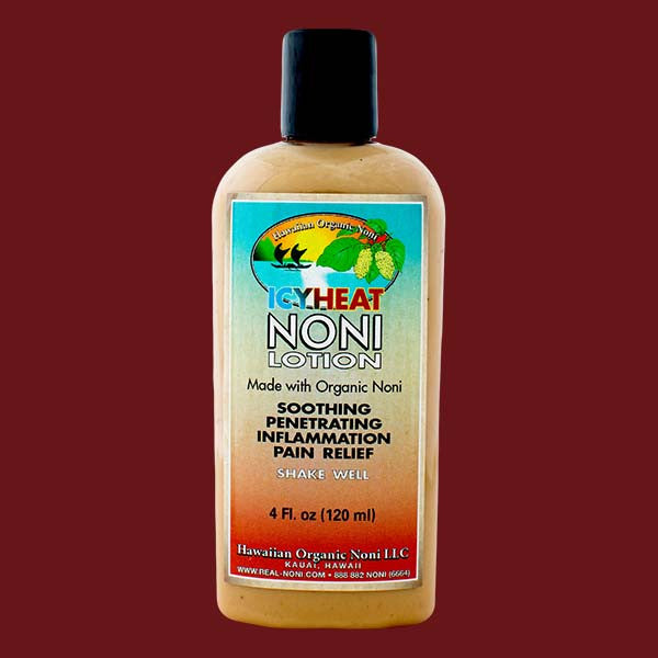 Icy Heat Noni Lotion, by Hawaiian Organic Noni , Condiment - Hawaiian Organic Noni, The Kauai Store