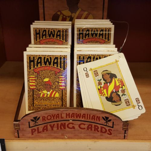 Hawaiian Playing Cards, by Hawaiian Woody's , Home - Hawaiian Woody's, The Kauai Store