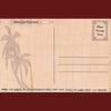 Wooden Kauai Postcard - Bird of Paradise, by Hawaiian Woody's , Home - Hawaiian Woody's, The Kauai Store  - 2