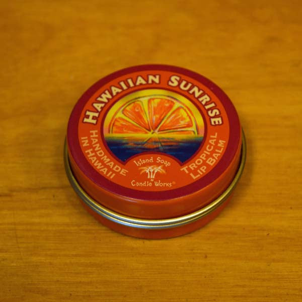 Tropical Lip Balm - Hawaiian Sunrise, by Island Soap and Candle Works , Beauty - Island Soap & Candle Works, The Kauai Store