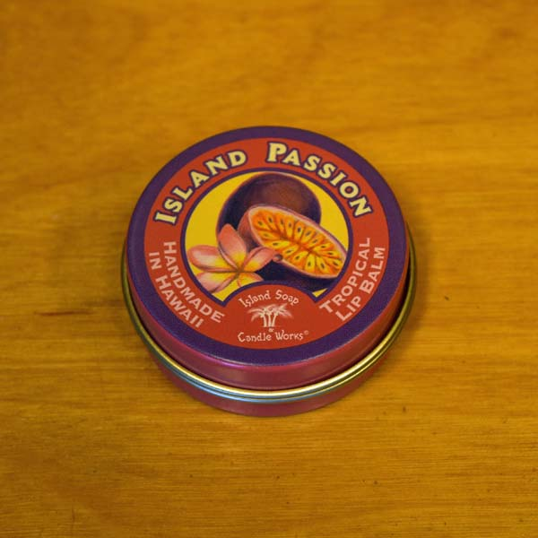 Tropical Lip Balm - Island Passion, by Island Soap & Candle Works