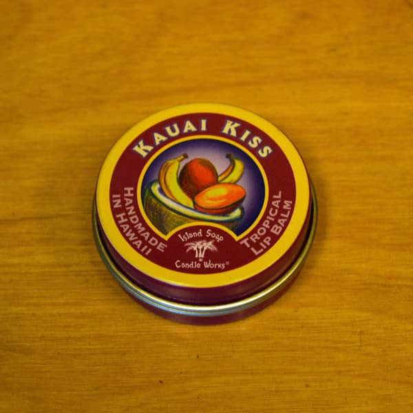 Tropical Lip Balm - Kauai Kiss, by Island Soap & Candle Works , Beauty - Island Soap & Candle Works, The Kauai Store