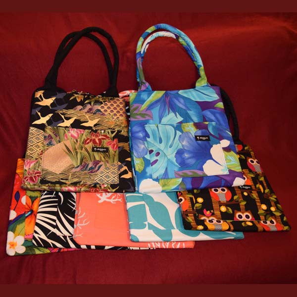 Manapua Tote Bags, by Mailelani's , Accessories - Mailelani's, The Kauai Store  - 1