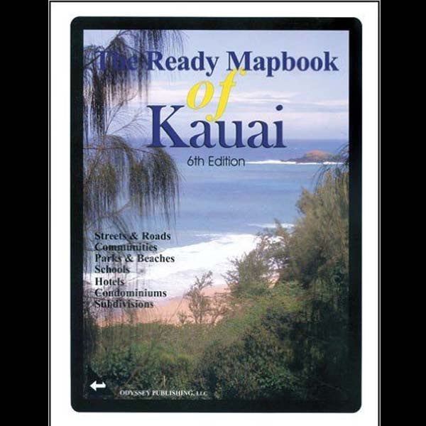 The Ready Mapbook of Kauai, by Odyssey Publishing , Books - Odyssey Publishing, The Kauai Store