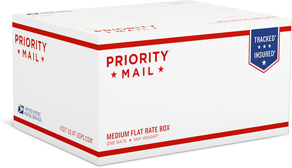 Shipping - Medium Flat Rate Box ,  - USPS, The Kauai Store