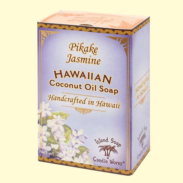 Coconut Oil Soap - PIkake Jasmine, 2 oz. by Island Soap & Candle Works , Soap - Island Soap & Candle Works, The Kauai Store