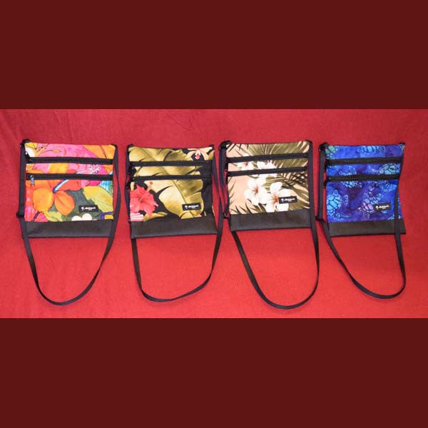 Two Pocket Travel Bags, by Mailelani's , Accessories - Mailelani's, The Kauai Store  - 1