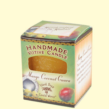 Votive Candle - Mango Coconut Guava, by Island Soap & Candle Works , Candle - Island Soap & Candle Works, The Kauai Store