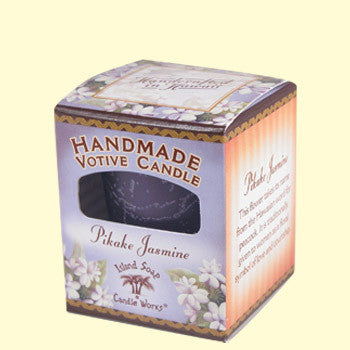 Votive Candle - Pikake Jasmine, by Island Soap & Candle Works , Candle - Island Soap & Candle Works, The Kauai Store