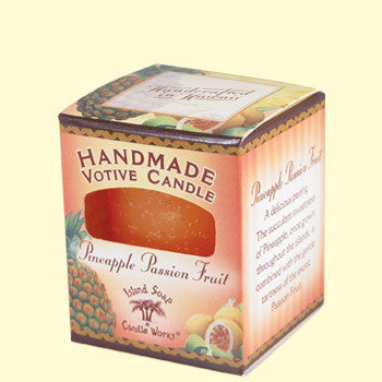 Votive Candle - Pineapple Passion Fruit, by Island Soap & Candle Works , Candle - Island Soap & Candle Works, The Kauai Store