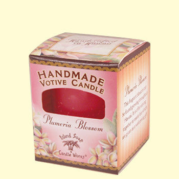 Votive Candle - Plumeria Blossom, by Island Soap & Candle Works , Home - Island Soap & Candle Works, The Kauai Store
