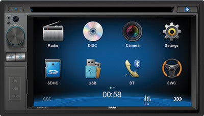 "Axis 6.2"" touchscreen DVD multimedia player AX1507BT"