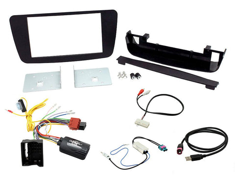 Aftermarket Headunit Install Fascia Kit for Mercedes Benz A-Class 2013- (FP8411K)