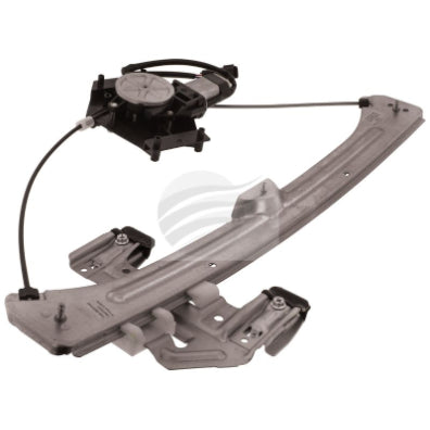 POWER WINDOW REGULATOR & MOTOR CHRYSLER PT CRUISER - NEEDS 2X SLIDERS (ERM1995RF)