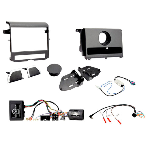 Aftermarket Headunit Install Fascia Kit for Landrover Discovery 4 2009-2016 (FP8409K)