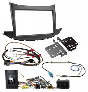 Aftermarket Headunit Install Fascia Kit for Holden Trax TJ with Info Adapter (FP8414KC)