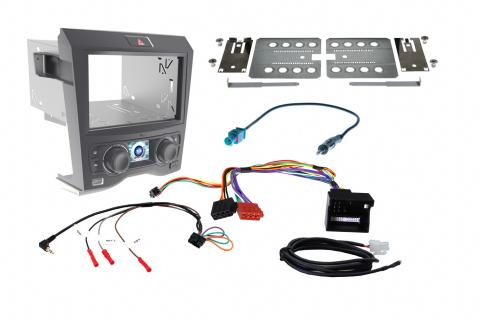Aftermarket Headunit Install Fascia Kit for Holden Commodore VE Black (FP9350BK)