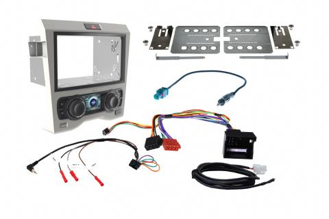 Aftermarket Headunit Install Fascia Kit for Holden Commodore VE Grey on