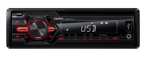 Clarion FZ207AU USB / AUX-IN / SD / MP3 / WMA RECEIVER