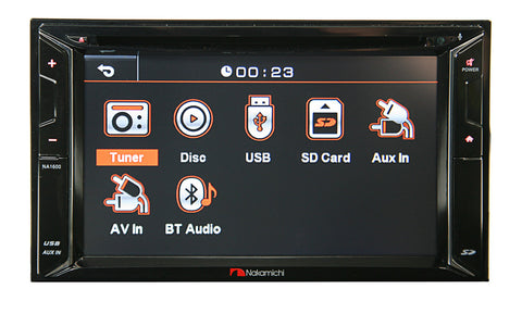 Nakamichi NA1610 audio visual headunit