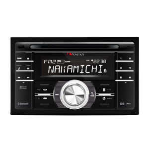 NAKAMICHI DOUBLE DIN HEAD UNIT